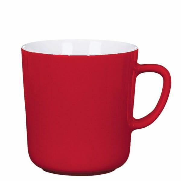 Bekijk de Mini kop rood-wit 25 cl