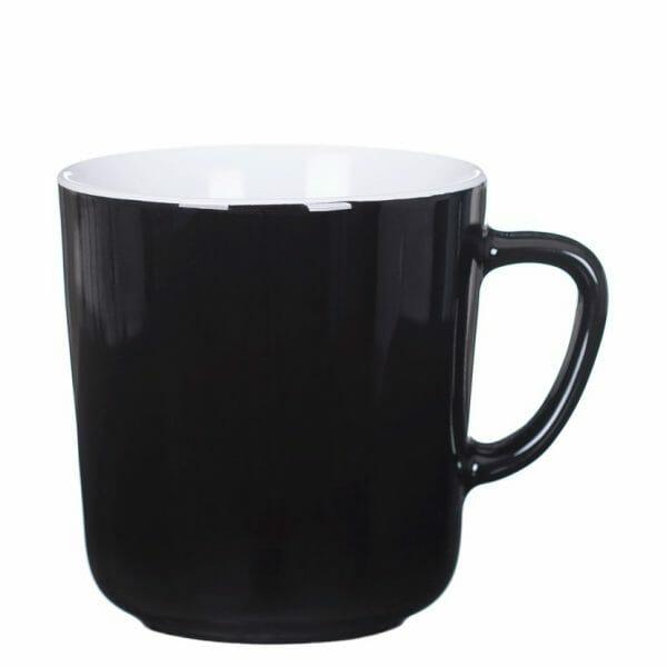 Bekijk de Mini kop zwart-wit 25 cl