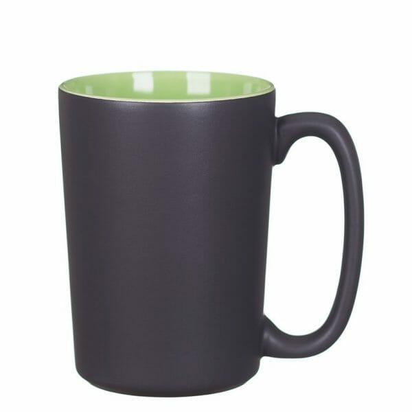 Bekijk de Quick matt kop zwart-groen 38 cl