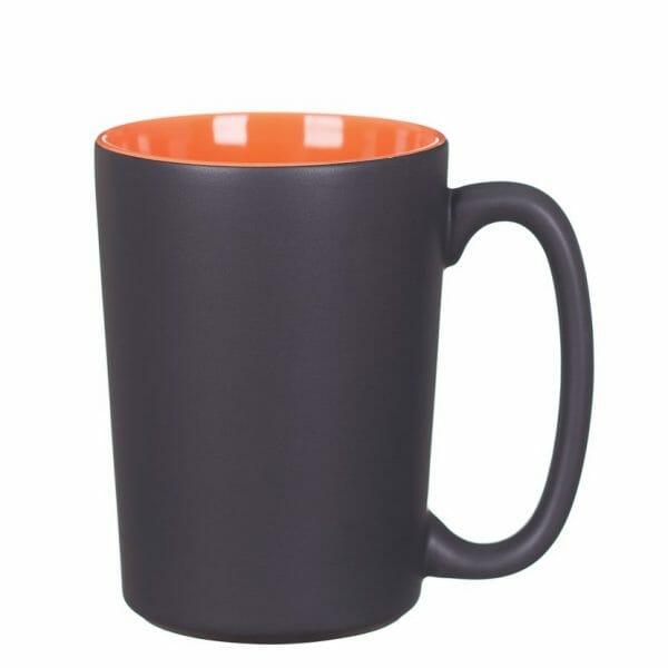 Bekijk de Quick matt kop zwart-oranje 38 cl