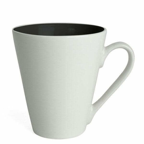 Bekijk de Atilla Color kop wit-zwart 26 cl