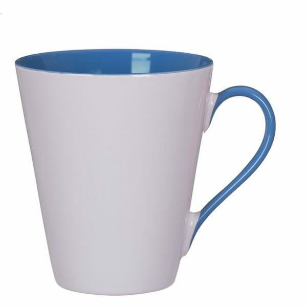 Bekijk de Atilla Combo kop wit-blauw 30 cl