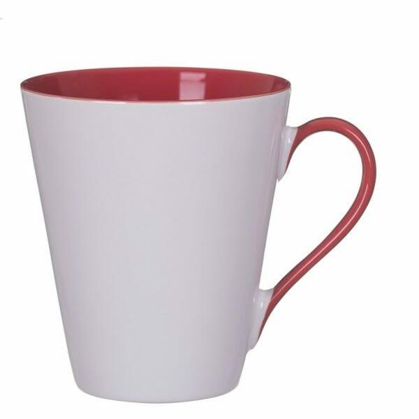 Bekijk de Atilla Combo kop wit-rood 30 cl