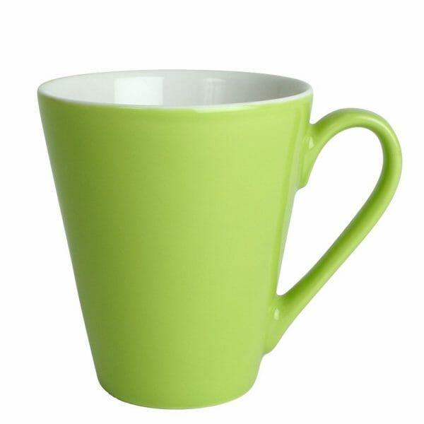 Bekijk de Atilla kop groen-wit 26 cl