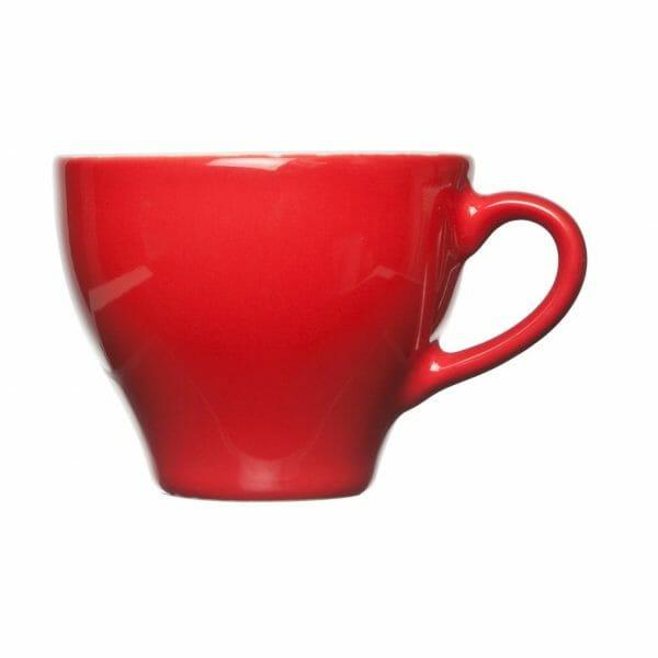 Bekijk de Barista Cappuccino Kop rood 20 cl. Koppen en schotel Los