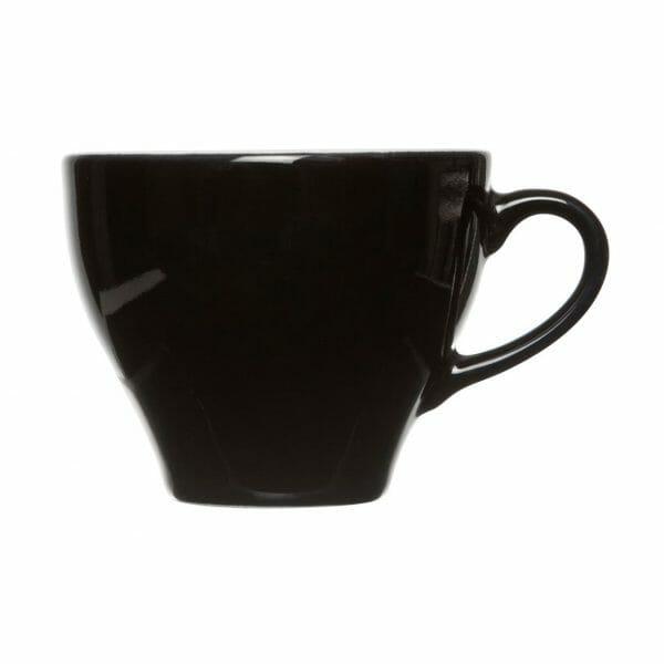 Bekijk de Barista Cappuccino Kop zwart 20 cl. Koppen en schotel Los