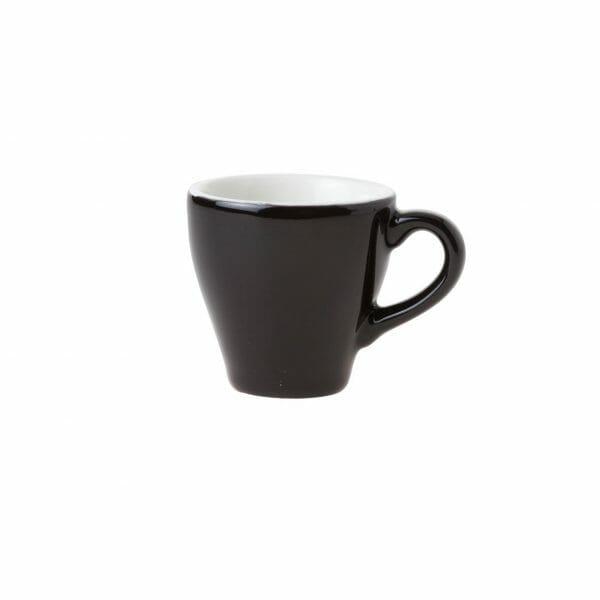 Bekijk de Barista Espresso Kop zwart 7 cl. Koppen en schotel Los