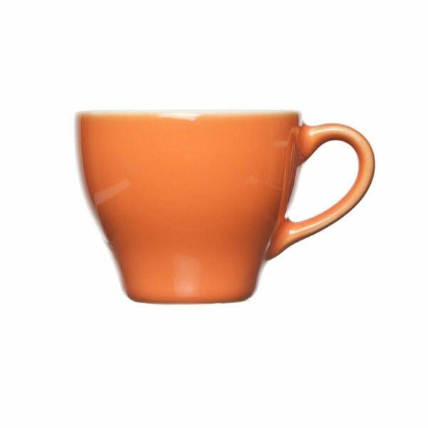 Bekijk de Barista Koffie Kop oranje 15 cl. Koppen en schotel Los