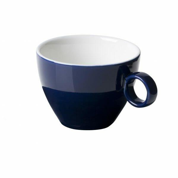 Bekijk de Bart Cappuccino Kop blauw 23 cl. Koppen en schotel Los