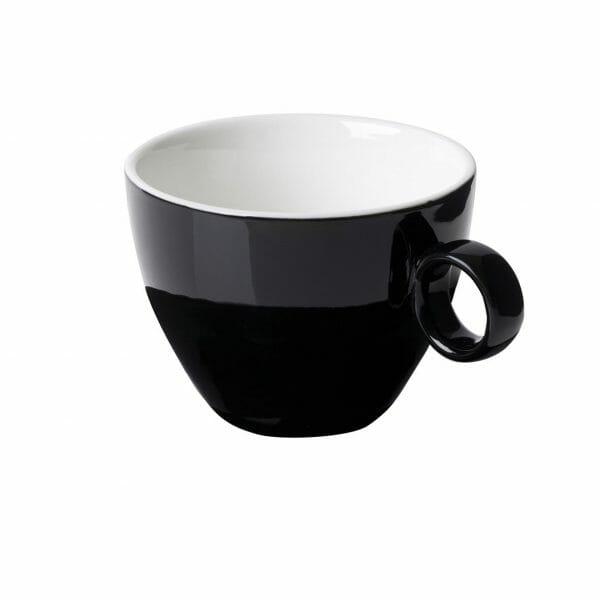 Bekijk de Bart Cappuccino Kop zwart 23 cl. Koppen en schotel Los