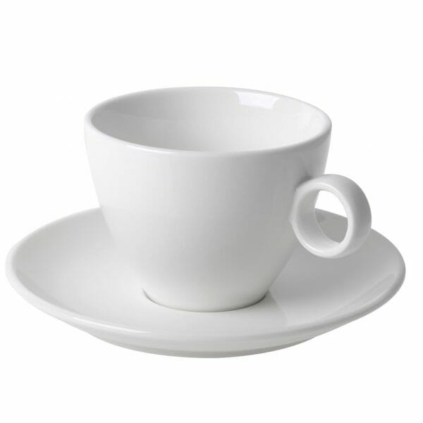 Bekijk de Bart Cappuccino off-white 23 cl. SET Kop en schotel Sets
