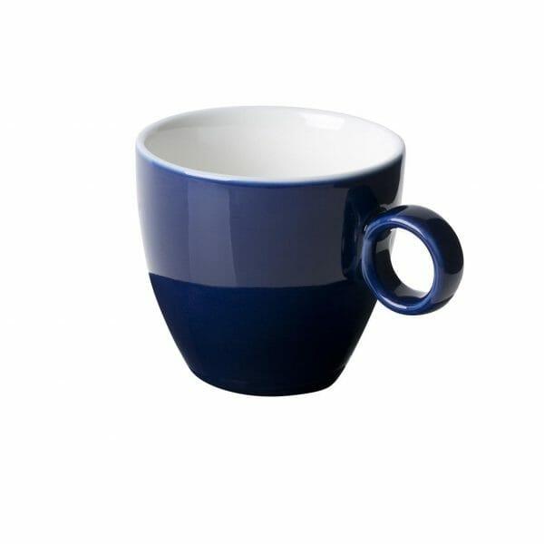 Bekijk de Bart Koffie Kop blauw 17 cl. Koppen en schotel Los