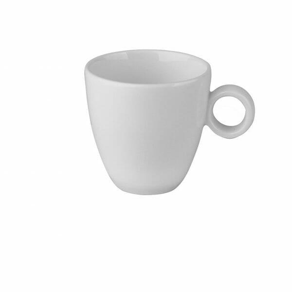 Bekijk de Bart Koffie Kop off-white 17 cl. Koppen en schotel Los