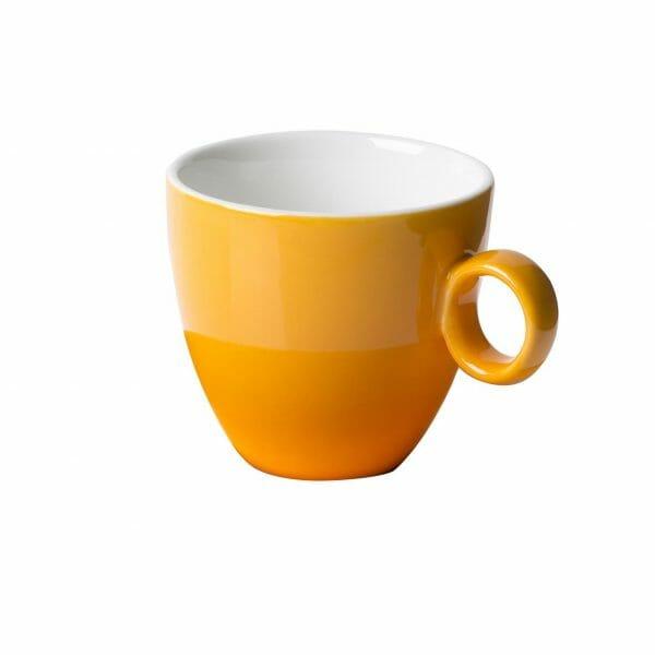 Bekijk de Bart Koffie Kop oker 17 cl. Koppen en schotel Los