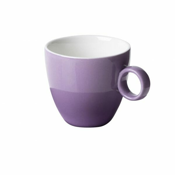 Bekijk de Bart Koffie Kop paars 17 cl. Koppen en schotel Los