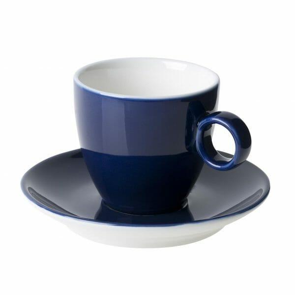 Bekijk de Bart Koffie blauw 17 cl. SET Kop en schotel Sets