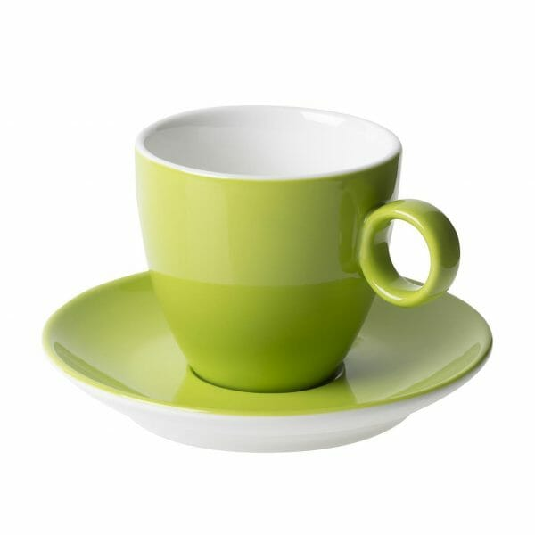 Bekijk de Bart Koffie groen 17 cl. SET Kop en schotel Sets