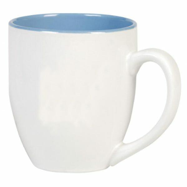 Bekijk de Big Drink mok wit-blauw 50 cl. Mokken