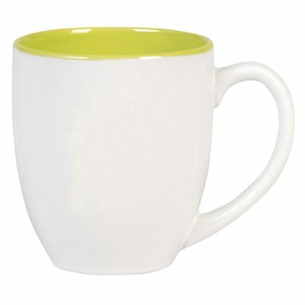 Bekijk de Big Drink mok wit-groen 50 cl. Mokken