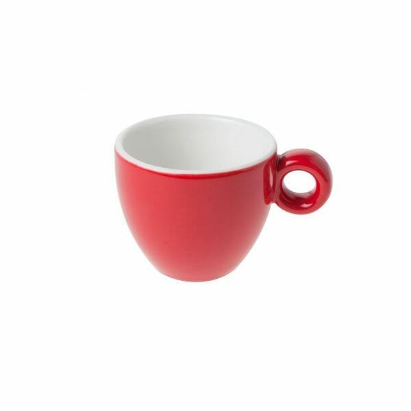 Bekijk de Bola Espresso Kop rood-roomwit 8 cl. Koppen en schotel Los