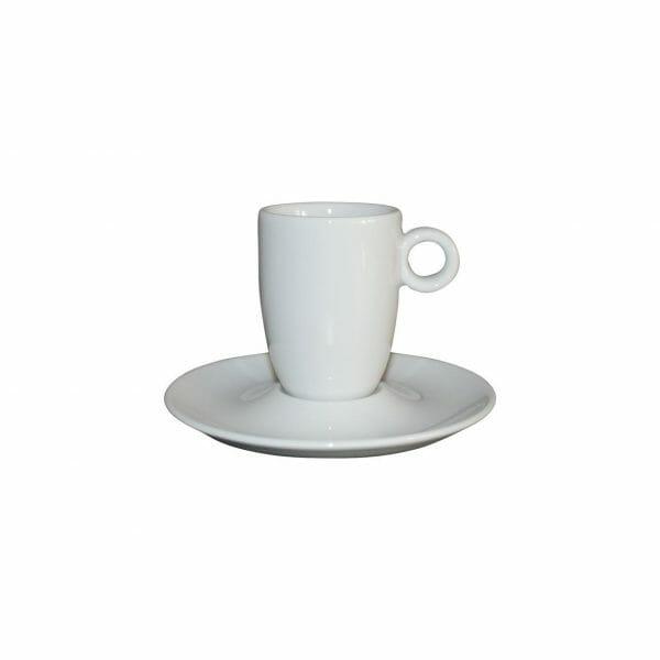 Bekijk de Bola Espresso hoog wit 9 cl. SET Kop en schotel Sets