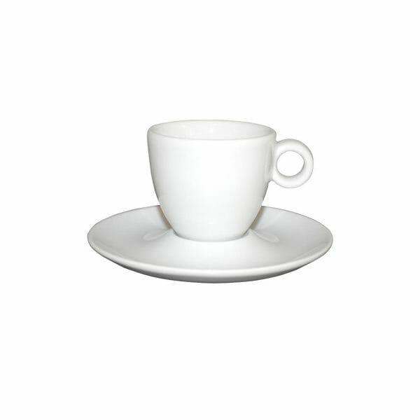 Bekijk de Bola Espresso wit 8 cl. SET Kop en schotel Sets