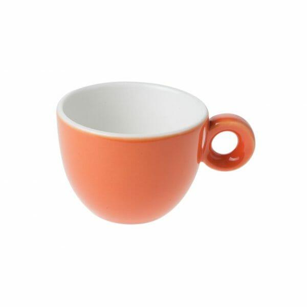 Bekijk de Bola Koffie Kop oranje-roomwit 15 cl. Koppen en schotel Los
