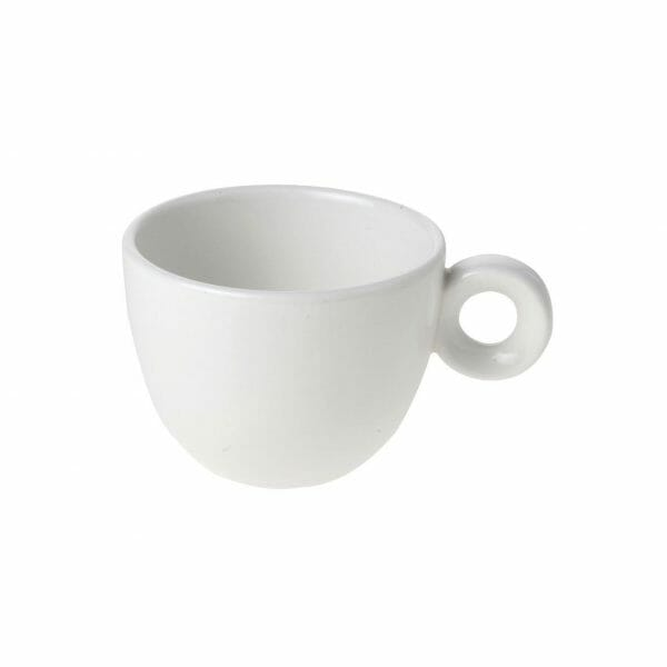 Bekijk de Bola Koffie Kop wit 15 cl. Koppen en schotel Los