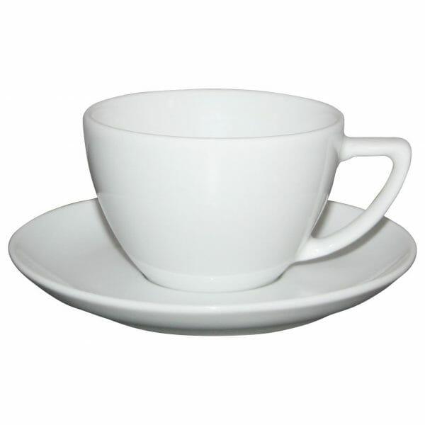 Bekijk de Classic Cappuccino wit 20 cl. SET Kop en schotel Sets