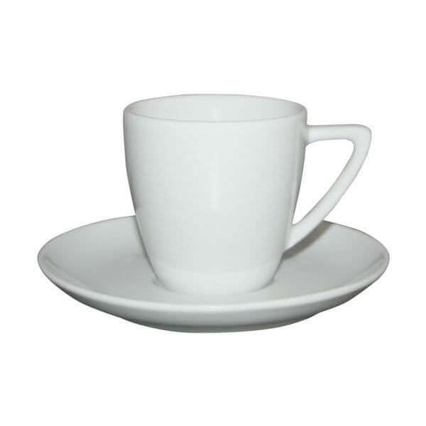 Bekijk de Classic Koffie wit 15 cl. SET Kop en schotel Sets