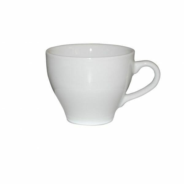 Bekijk de Dom Cappuccino Kop wit 20 cl. Koppen en schotel Los