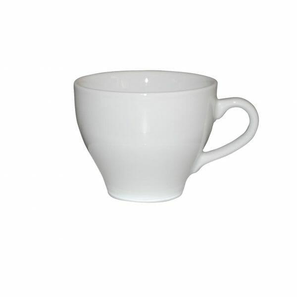 Bekijk de Dom Koffie Kop wit 15 cl. Koppen en schotel Los