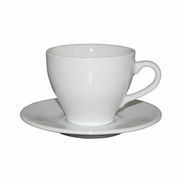 Bekijk de Dom Koffie wit 15 cl. SET Kop en schotel Sets