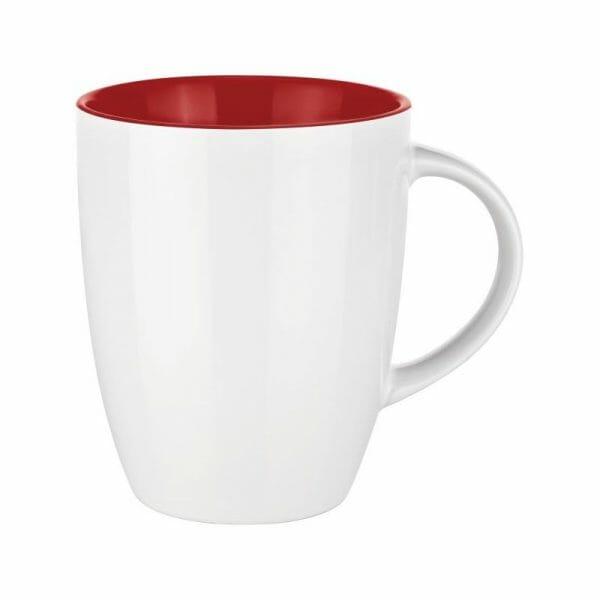 Bekijk de Elite Inside mok wit-rood 25 cl in het groot