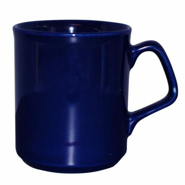 Bekijk de Ilse mok blauw 25 cl. Mokken