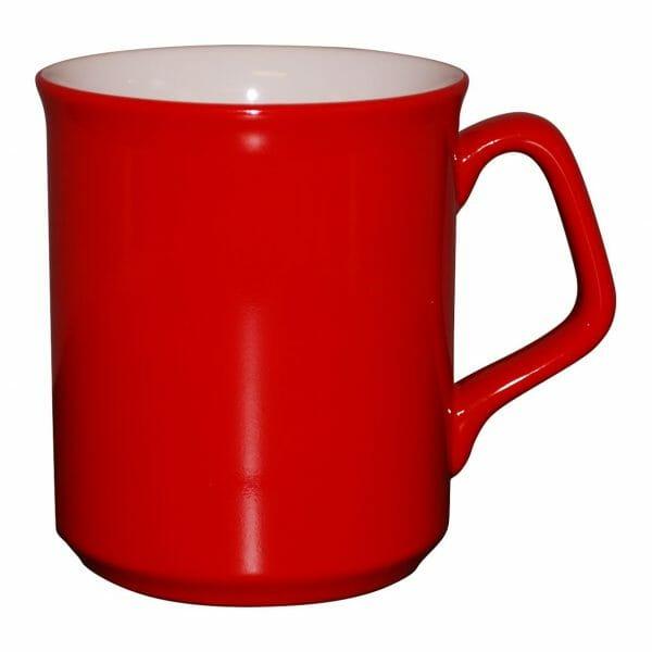 Bekijk de Ilse mok rood-wit 25 cl. Mokken