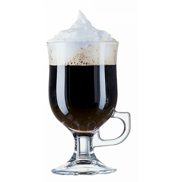 Bekijk de Irish coffeeglas mazagran 24 cl
