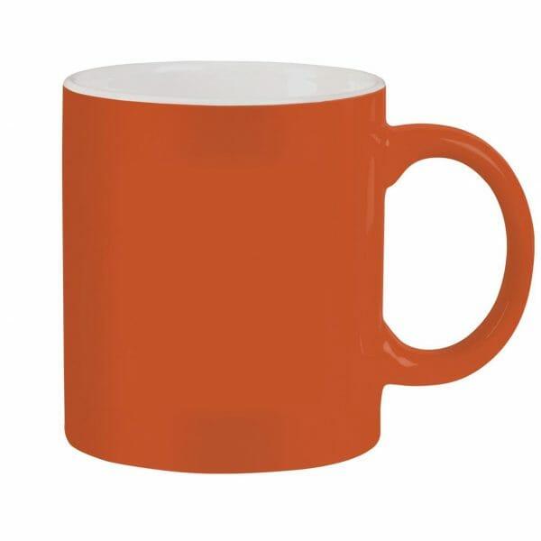 Bekijk de Kitty oranje-wit 30 cl. Mokken