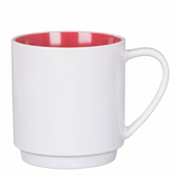 Bekijk de Milano kop wit-rood 30 cl