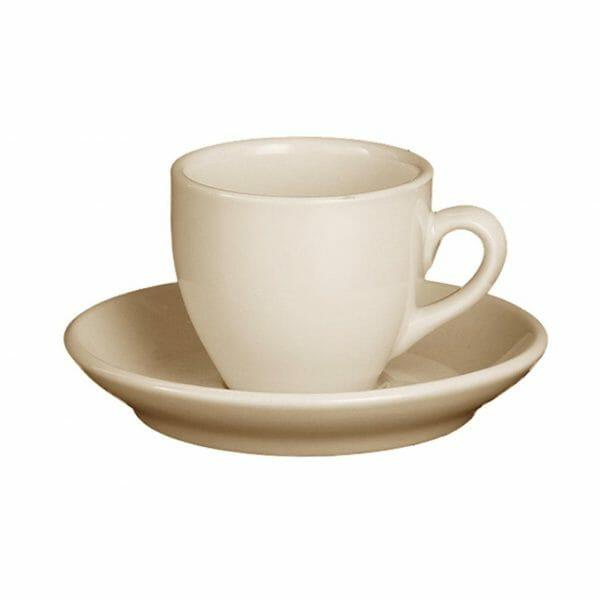 Bekijk de Robusta Espresso ivoor 9 cl. SET Kop en schotel Sets