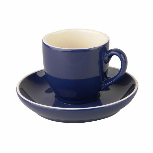 Bekijk de Robusta Koffie blauw 15 cl. SET Kop en schotel Sets