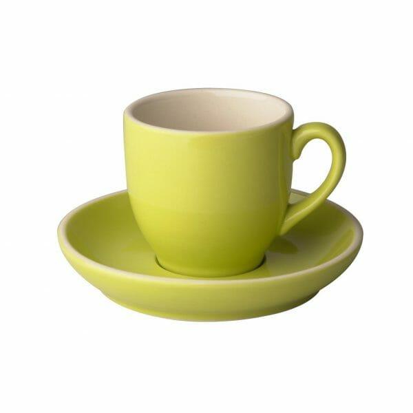 Bekijk de Robusta Koffie groen 15 cl. SET Kop en schotel Sets