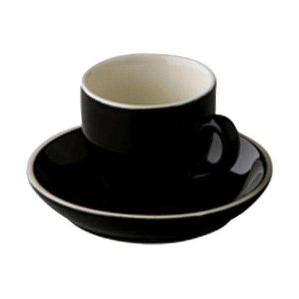 Bekijk de Robusta Koffie zwart 15 cl. SET Kop en schotel Sets