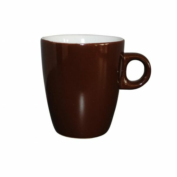 Bekijk de Sonja mok donker-bruin 18 cl. Mokken
