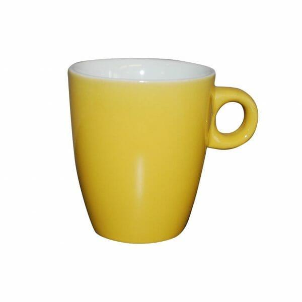 Bekijk de Sonja mok geel 18 cl. Mokken
