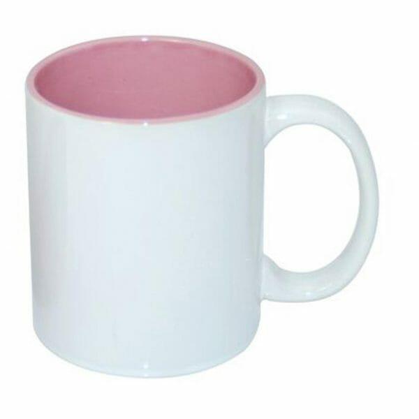 Bekijk de Sublimok gekleurde binnenzijde roze 25 cl. Sublimatie artikelen