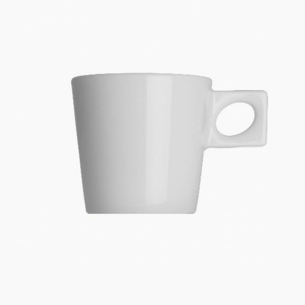 Bekijk de Walkure NY Cappuccino Kop wit Koppen en schotel Los