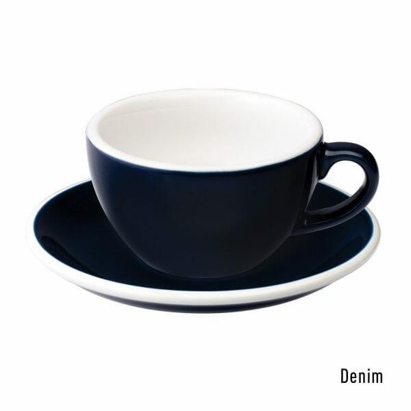 Egg Cappuccino Kop & Schotel 20 cl. Denim