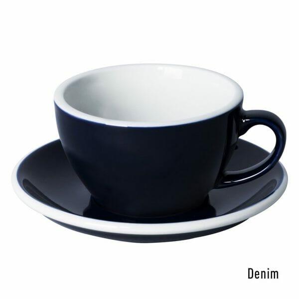 Egg Cappuccino Kop & Schotel 25 cl. Denim