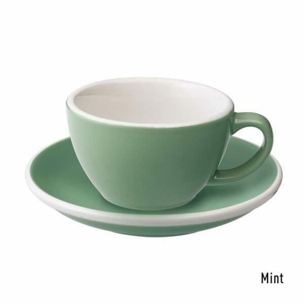 Egg Koffie Kop & Schotel 15 cl. Mint